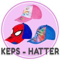 Keps, Huer & hatte