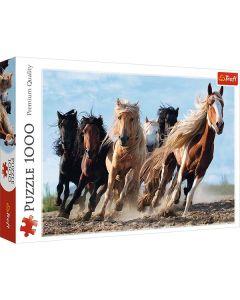 Heste puslespil 1000 brikker