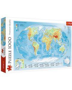 Verdenskort puslespil 1000 brikker