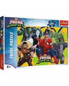 Spiderman puslespil 260 brikker