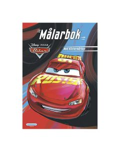 Disney Cars Malebøg