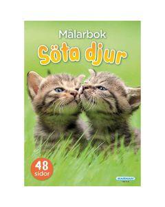 Søde dyr Malebøg