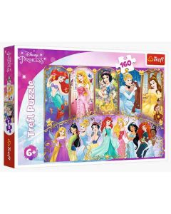 Princess puslespil 160 brikker