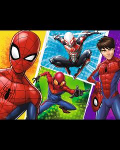 Spiderman puslespil 30 brikker