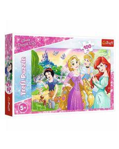 Disney Princess puslespil 100 brikker