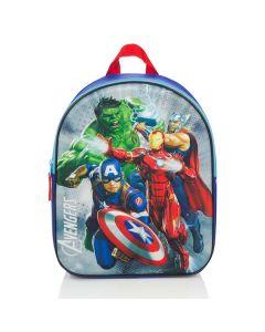 Avengers skoletaske 3D