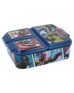 Avenger Madkasse med 3 rum