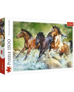 Horses puslespil 1500 brikker