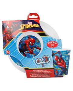 Spiderman spiseset