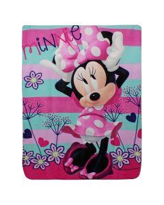 Minnie Mouse Fleecetæppe