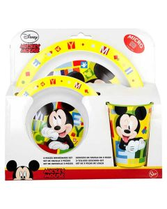 Mickey mouse spiseset