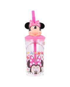 Minnie mouse kop med sugerør 3D