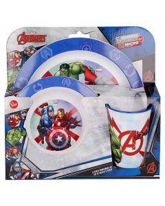 Avengers spiseset