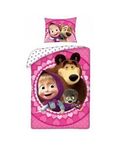 Masha og Bjørnen sengetøj