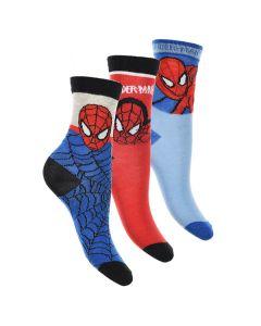 3 stk Spiderman strømper