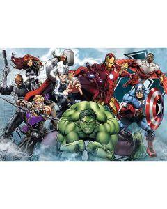 Avengers puslespil 100 brikker