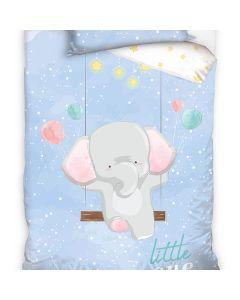 Junior sengetøj elefant