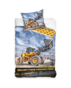 Bulldozer sengetøj