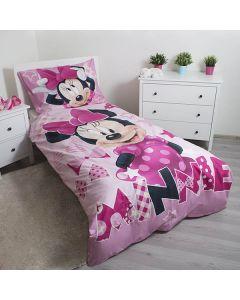 Minnie Mouse sengetøj - Lys i mørket