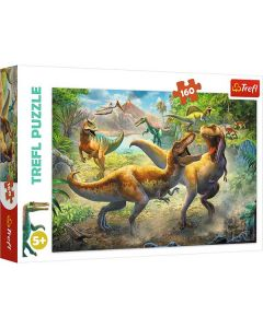 Dinosaurer puslespil 160 brikker