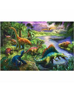 Dinosaur puslespil 260 brikker