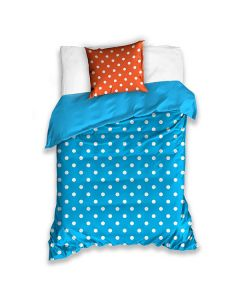 Colorful Sengetøj blå