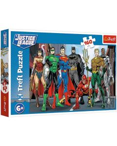 Justice League puslespil 160 brikker