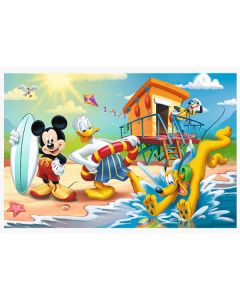 Mickey mouse puslespil 60 brikker
