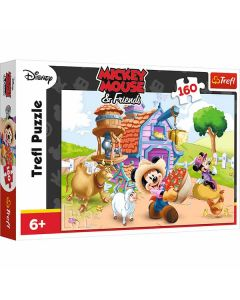 Mickey mouse puslespil 160 brikker