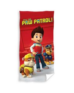 "Paw Patrol håndklæde ""Call the Paw patrol"""