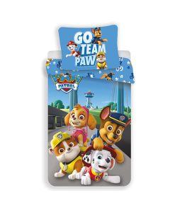Paw Patrol sengetøj pup heroes