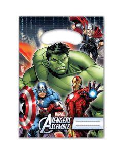 Avengers slikposer 6 stk