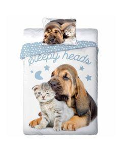 Hund og Kat sengetøj