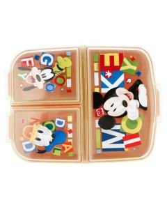 Mickey mouse Madkasse med 3 rum