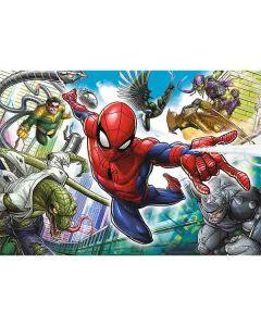 Spiderman puslespil 200 brikker