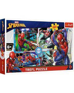 Spiderman puslespil 160 brikker