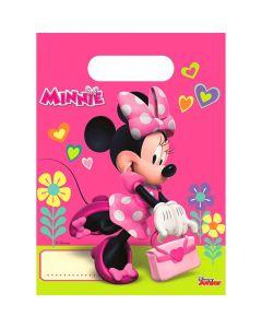 Minnie mouse slikposer 6 stk