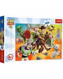 Toy story puslespil 160 brikker