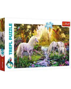 Unicorns puslespil 100 brikker